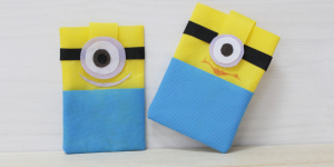 funda movil minion bondy